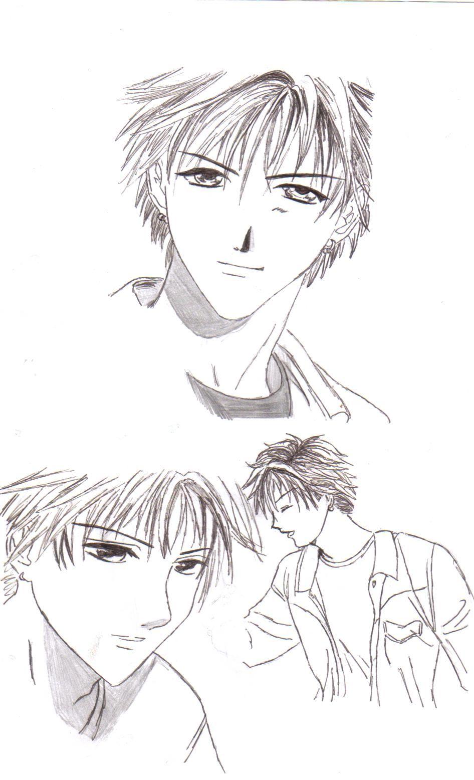 Dessin page 2 - Dessin manga image ...